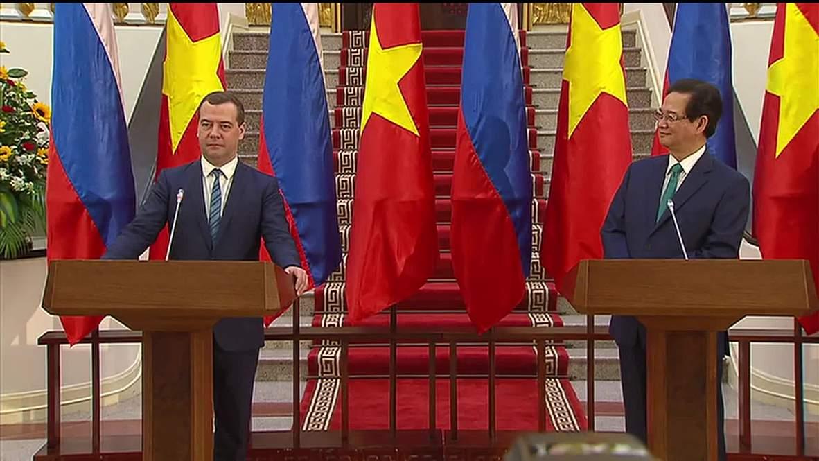 Vietnam: 'Almost all details agreed' on Vietnam-EEU free trade zone - Medvedev