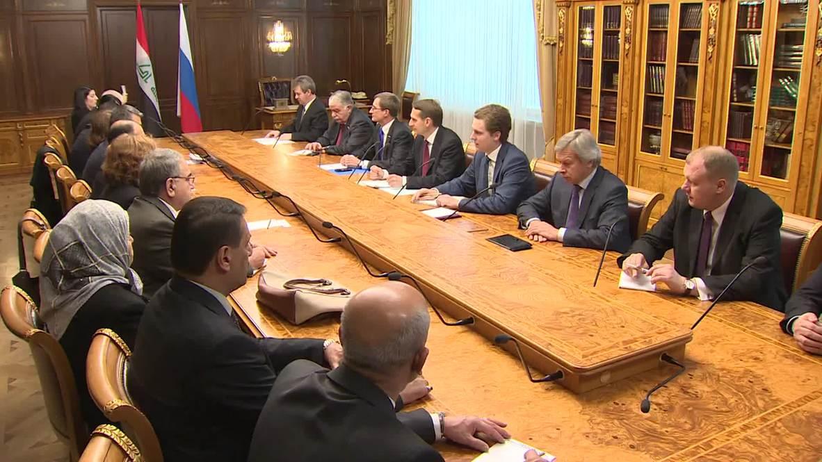 "Russia: ""U.S cause instability in Middle East"" -  State Duma speaker"