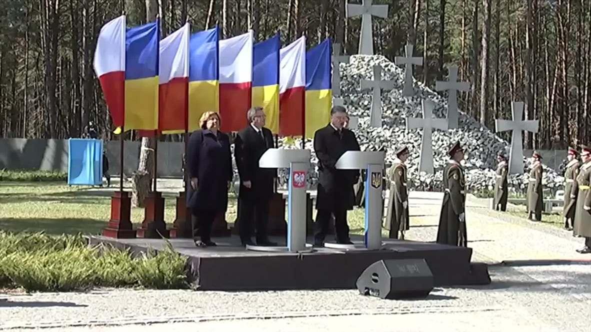 Ukraine: Poroshenko blames Stalin for outbreak of WWII