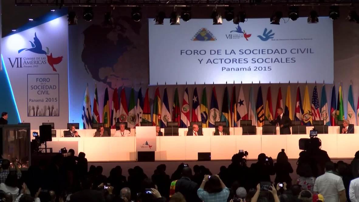 Panama: Days of US 'meddling' in Latin American politics are past - Obama