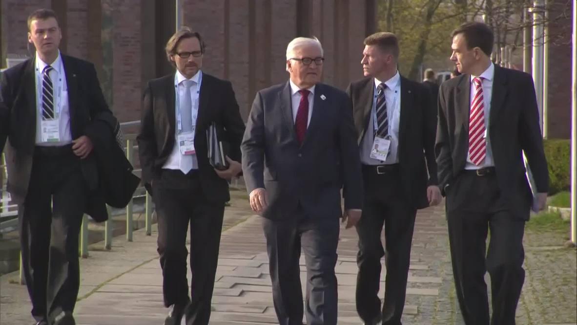 Germany: Steinmeier outlines the agenda for the G7 meeting