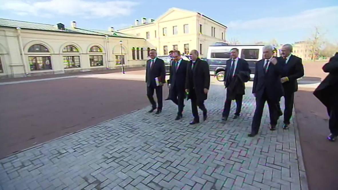 Russia: Putin talks campus life at St. Petersburg university