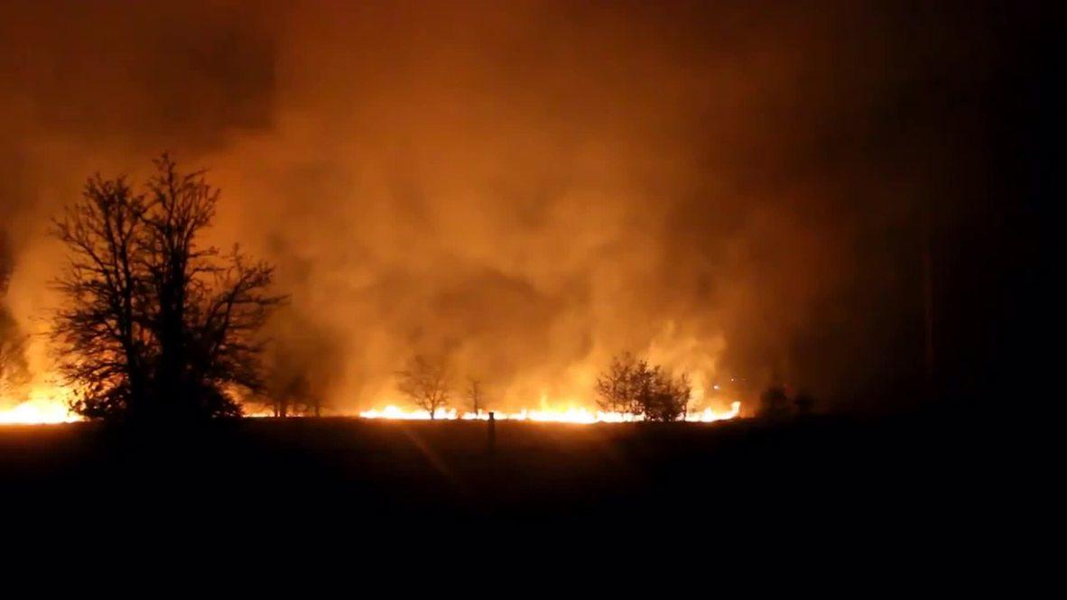 Ukraine: Chernobyl fire being battled, should be extinguished in days