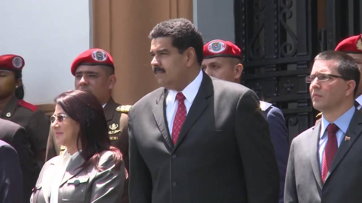 Venezuela: 'Cuban Five' honoured by President Maduro