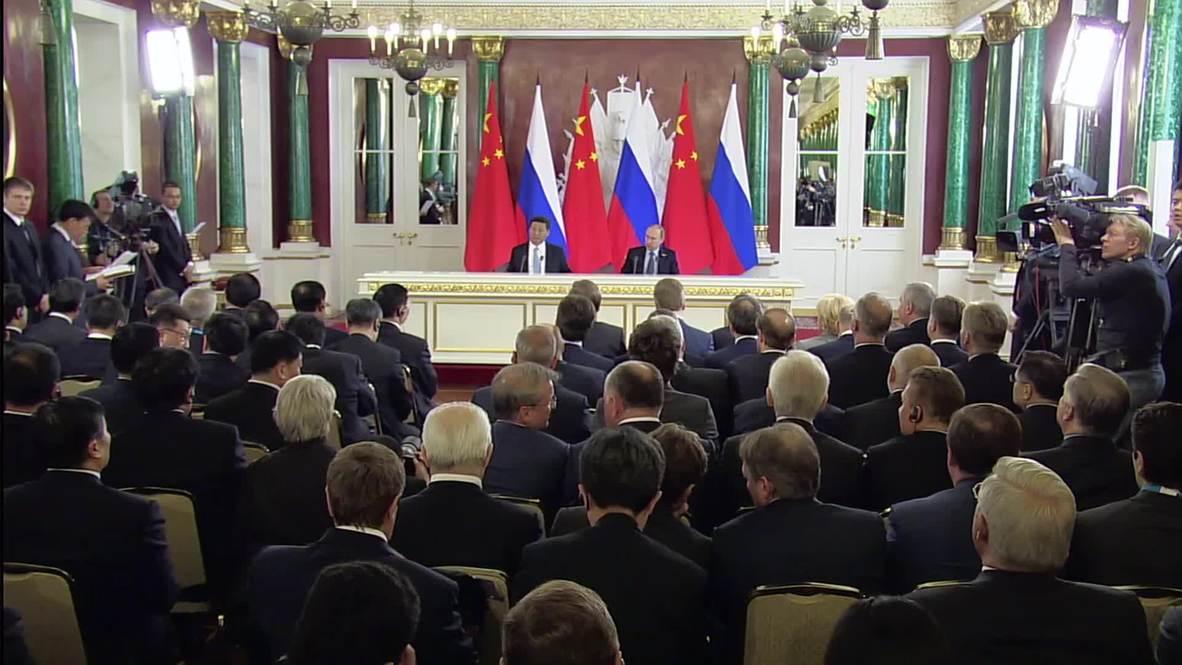 Russia: China is Russia's key strategic and economic partner - Putin