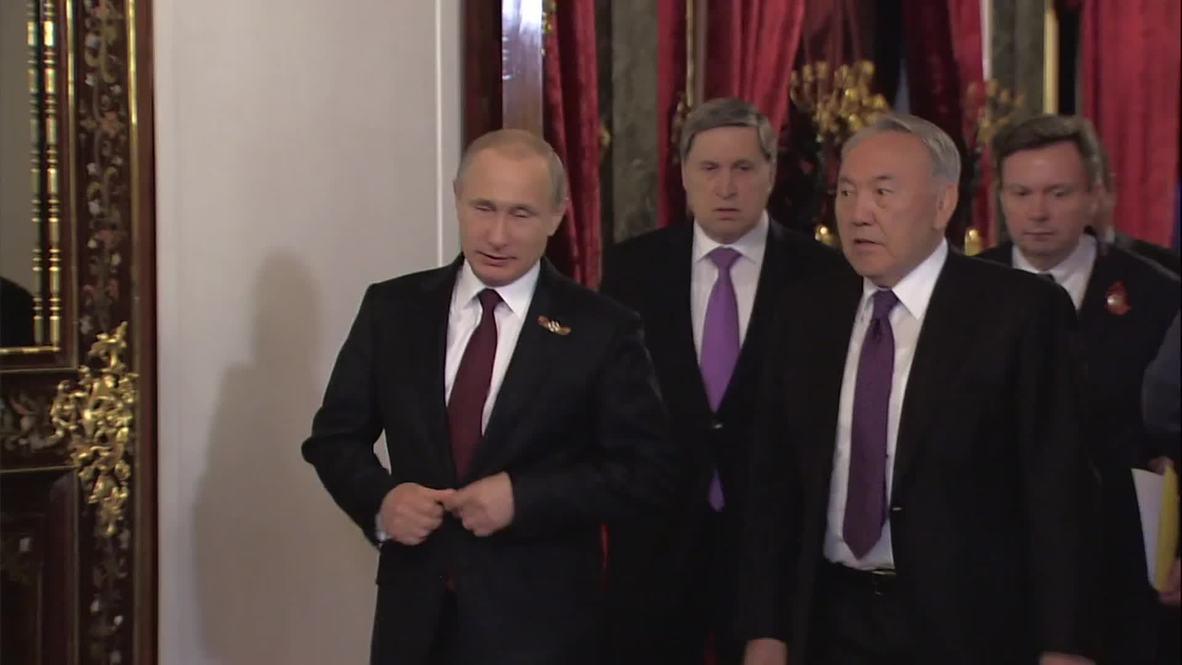 Russia: Kazakhstan always stands by Russia, Nazarbayev tells Putin
