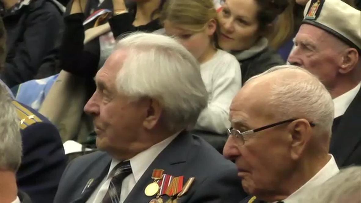 UK: Russian veterans honoured in London's Imperial War Museum for V-Day