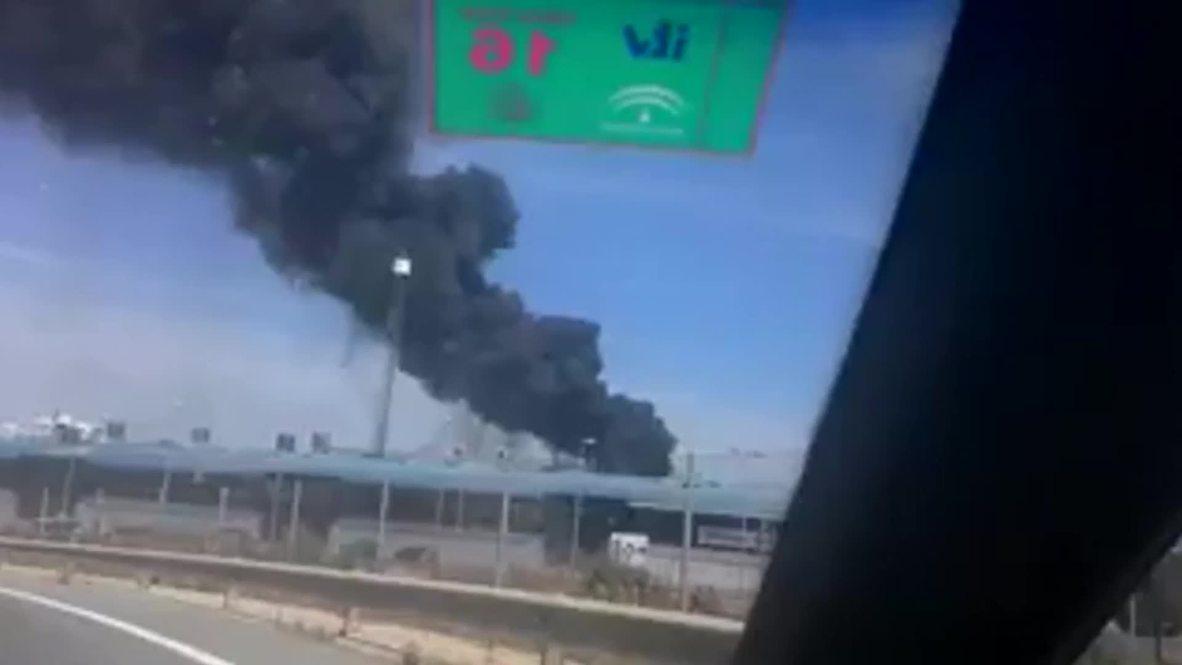 Spain: Several dead in military plane crash near Seville