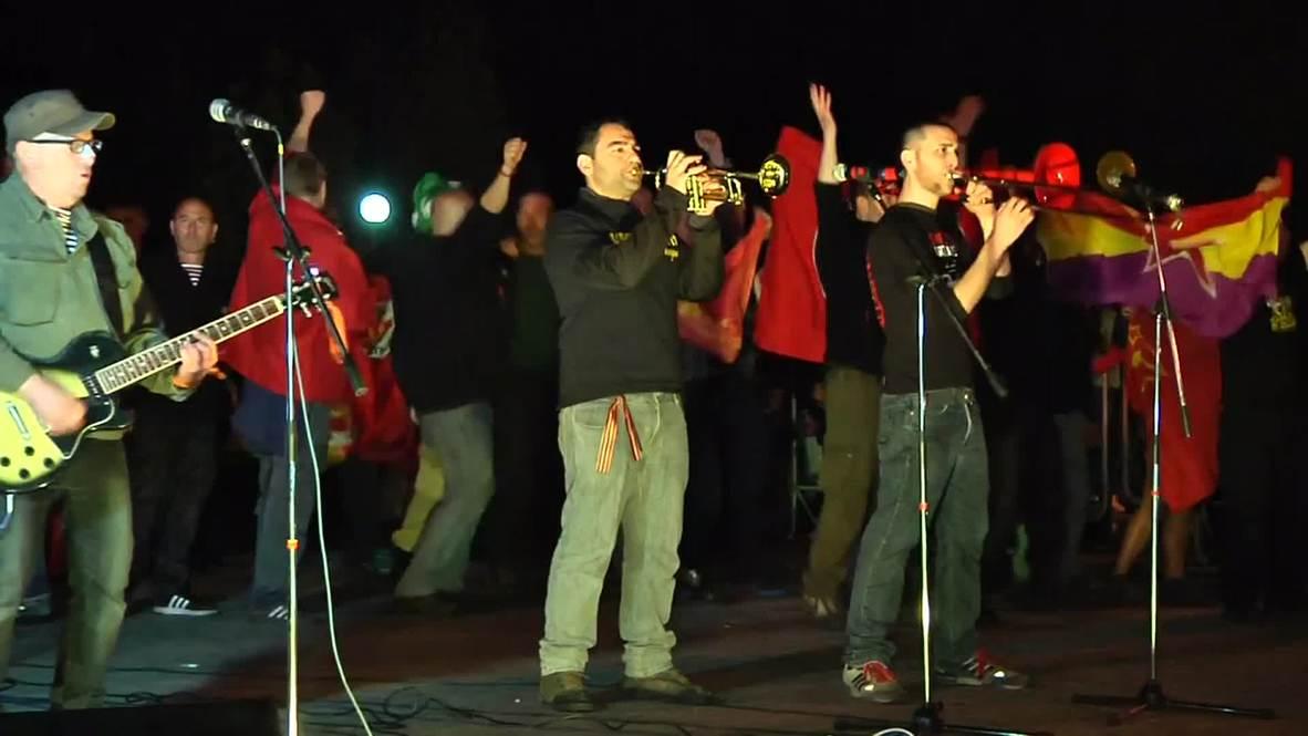 Ukraine: Banda Bassotti rocks Lugansk on eve of Victory Day