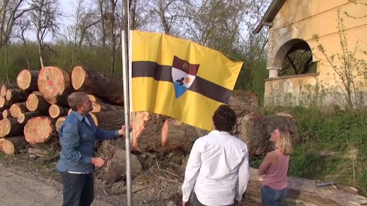 Croatia/Serbia: 'Liberland' leader Vit Jedlicka arrested by Croatian authorities *ARCHIVE*