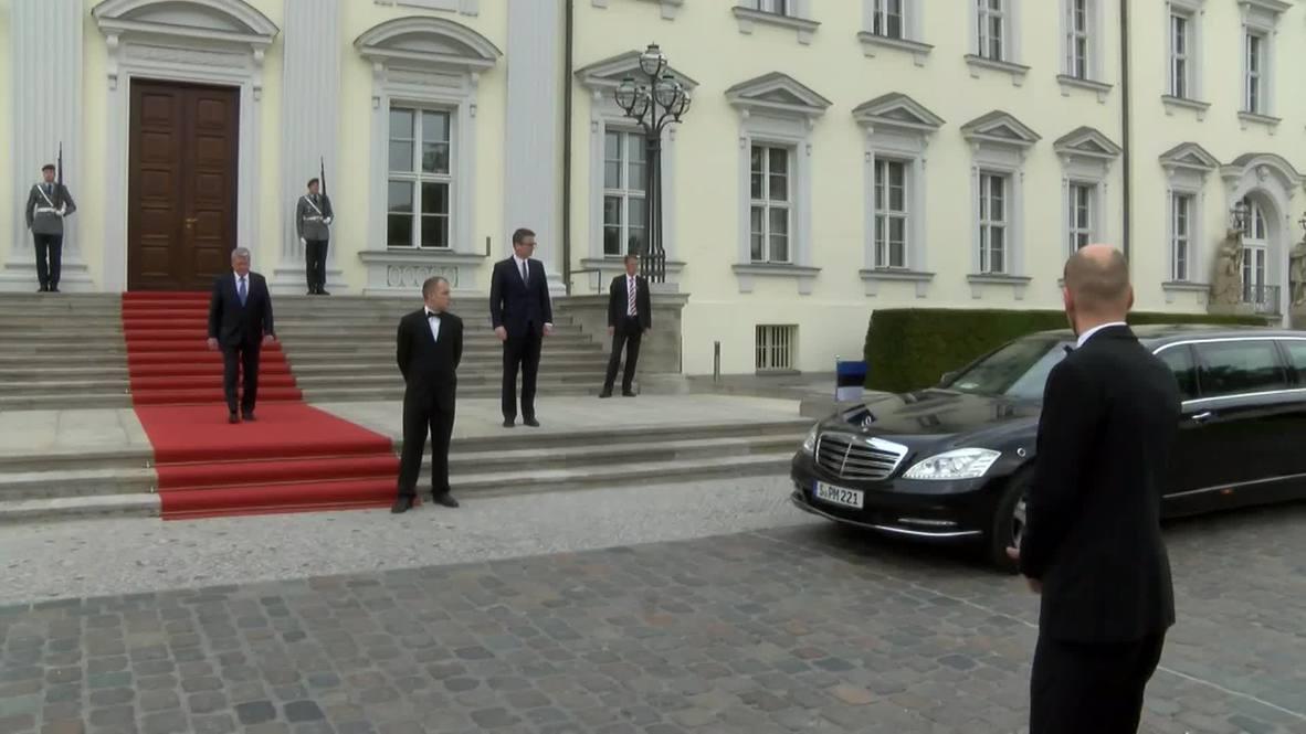 Germany: Estonian and German presidents meet in Berlin