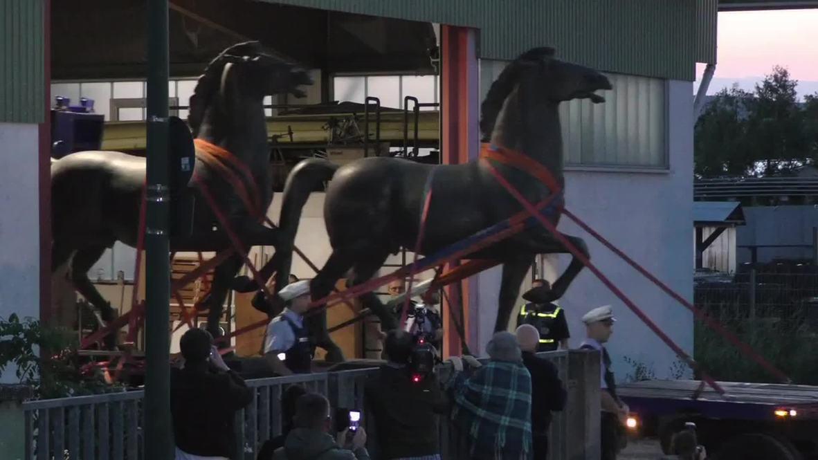 Germany: Hitler's horses found in black market art raid