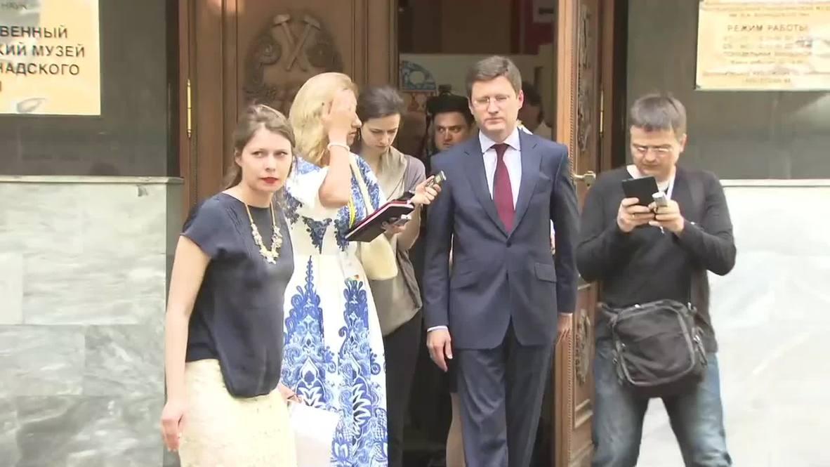 Russia: Novak talks 'Turkish Stream' gas pipeline after Greek counterpart meeting