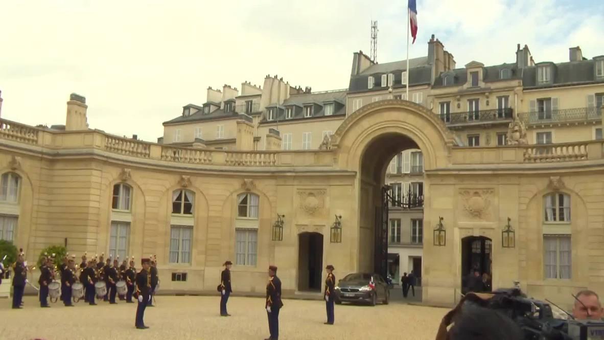 France: Spanish royals welcomed by President Hollande
