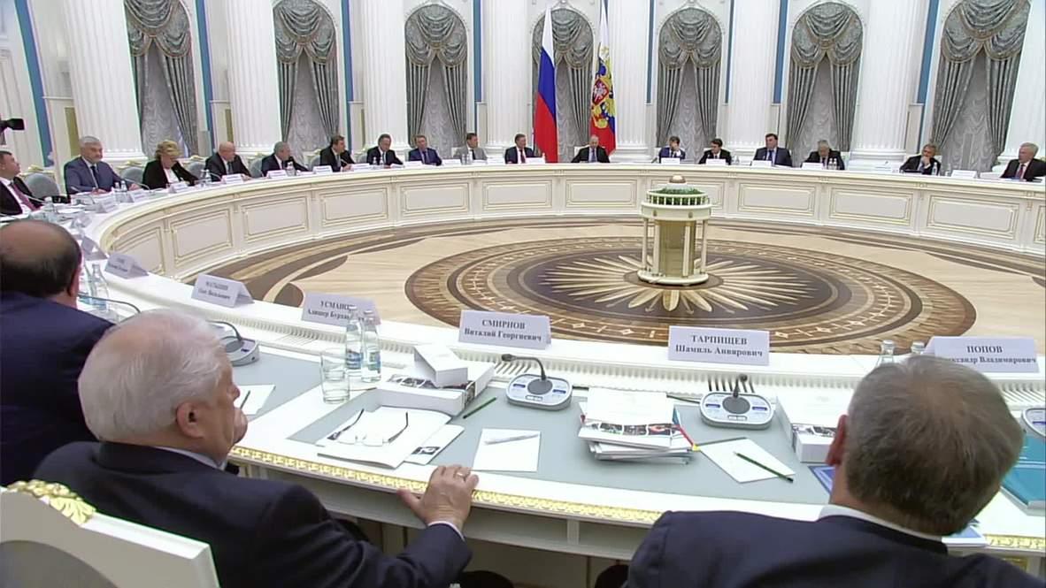 Russia: Putin praises success of Russia's sports programme
