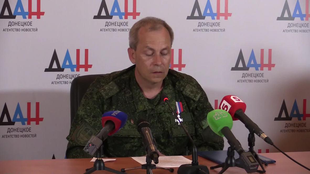 Ukraine: 'Over 90 people injured in Donetsk shelling'- DPR's Basurin