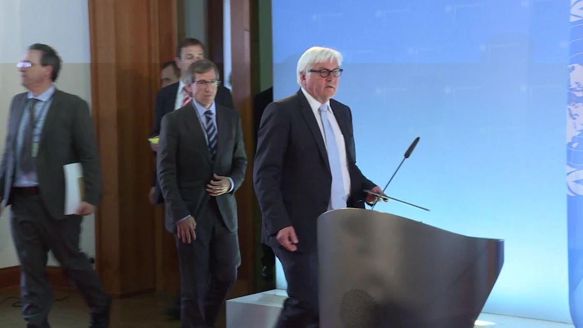 "Germany: Steinmeier warns Libya of ""cancerous tumour ISIS"""