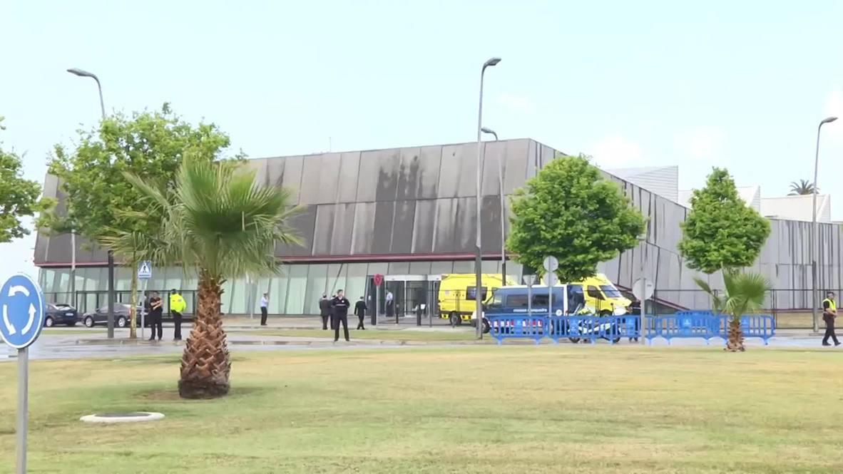 Spain: Remains of 30 Germanwings plane crash victims arrive in Spain for burial