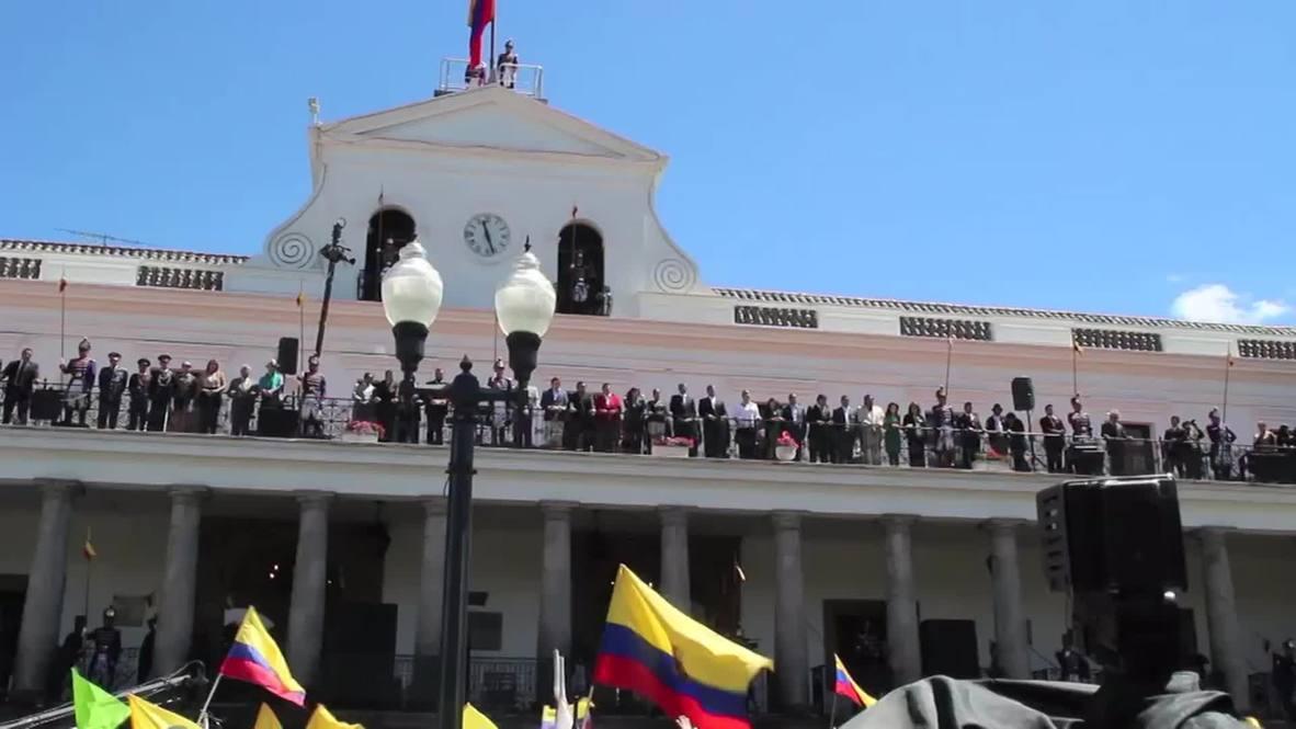 Ecuador: Correa denounces oppositional protests over wealth tax