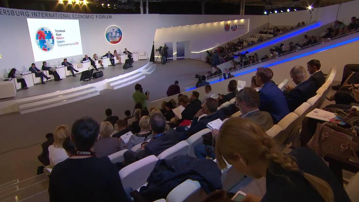 Russia: Small businesses meet ahead of St. Petersburg Economic Forum