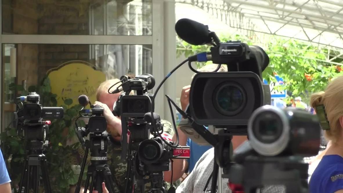 Ukraine: Intensified shelling injures five in Donetsk - DPR's Basurin
