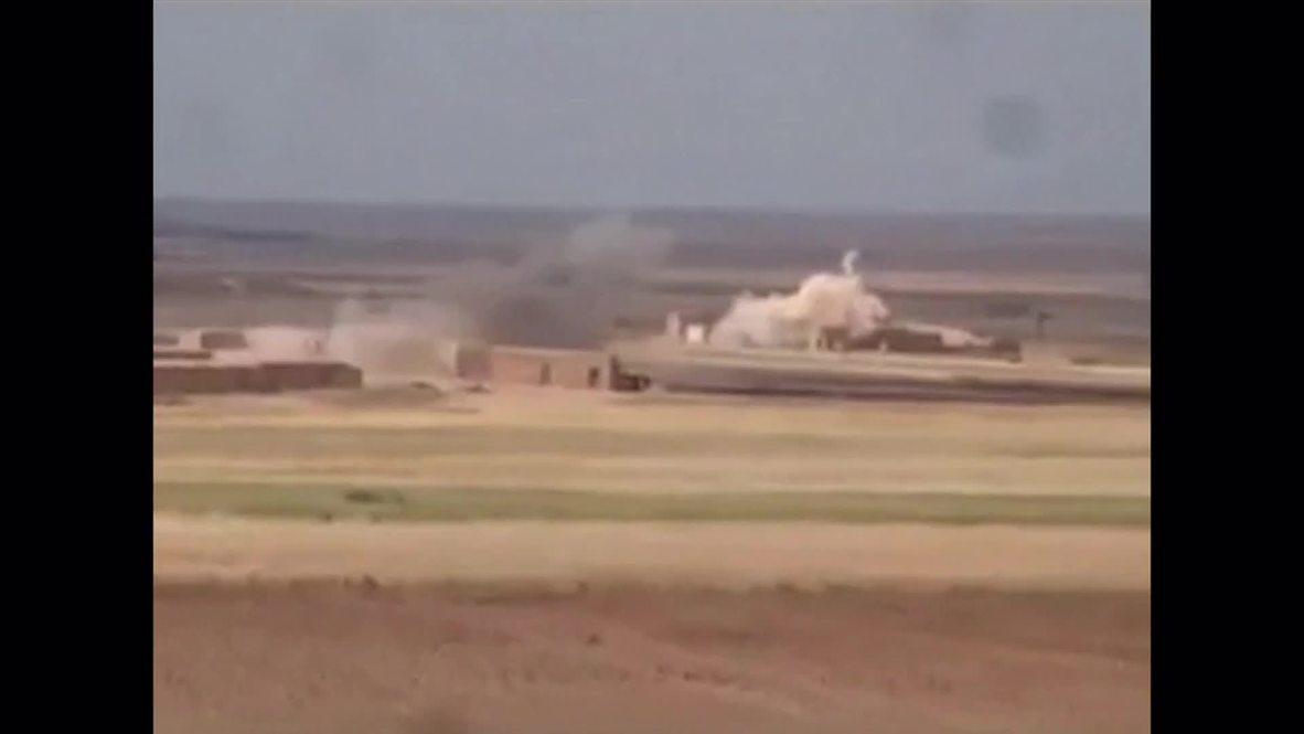 Syria: Kurdish forces seize strategic ISIS town