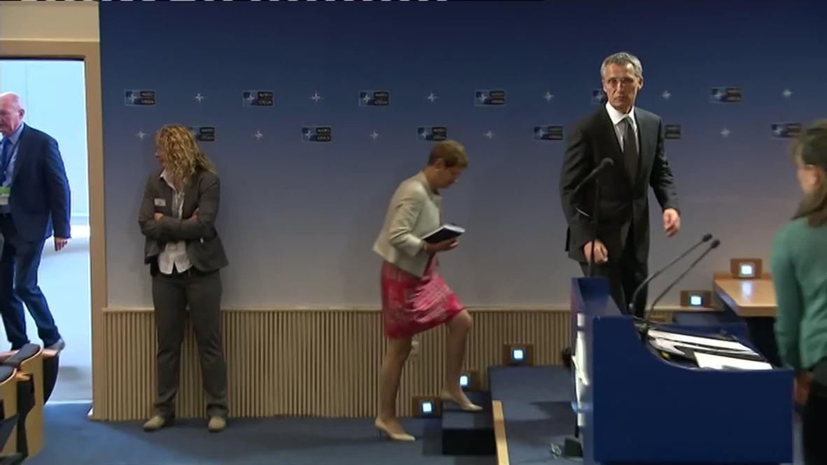 "Belgium: Stoltenberg expresses ""regret"" for NATO's bombing of Yugoslavia"