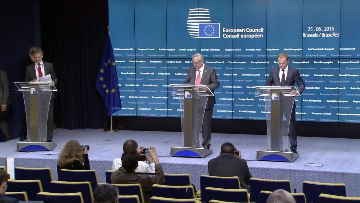 Belgium: EU to take 40,000 migrants from Italy, Greece
