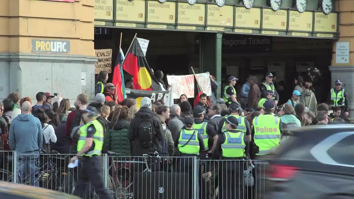 Australia: Protesters slam Aboriginal communities closures of Abbott govt