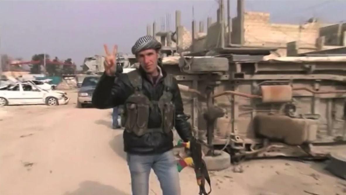 Syria: Kurdish forces celebrate reclaiming Kobane from Islamic State