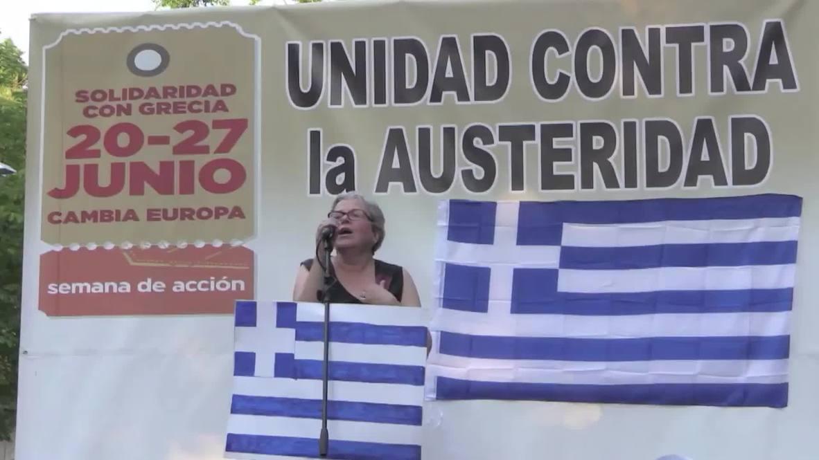 "Spain: Podemos' Iglesias slams Berlin  IMF for ""destroying"" the European project"