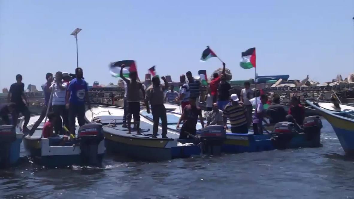 State of Palestine: Flotilla staged in Gazan waters after IDF intercept Freedom Flotilla