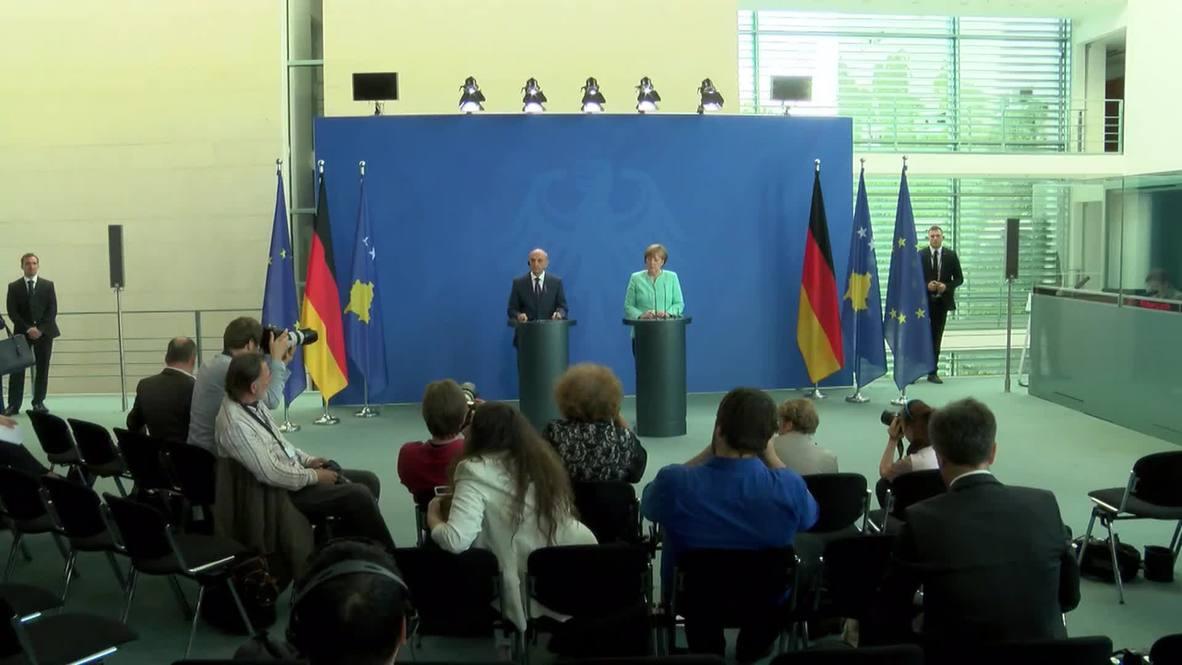 Germany: Compromise necessary for Serbia and Kosovo's EU progress, says Merkel