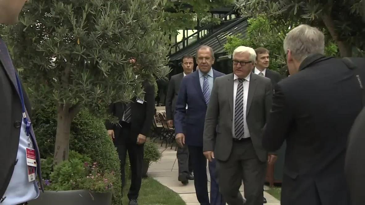 Austria: FM Lavrov and FM Steinmeier meet after Iran nuclear talks