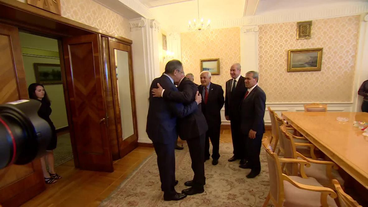 Russia: Lavrov meets Palestinian FM al-Maliki to discuss bilateral relations