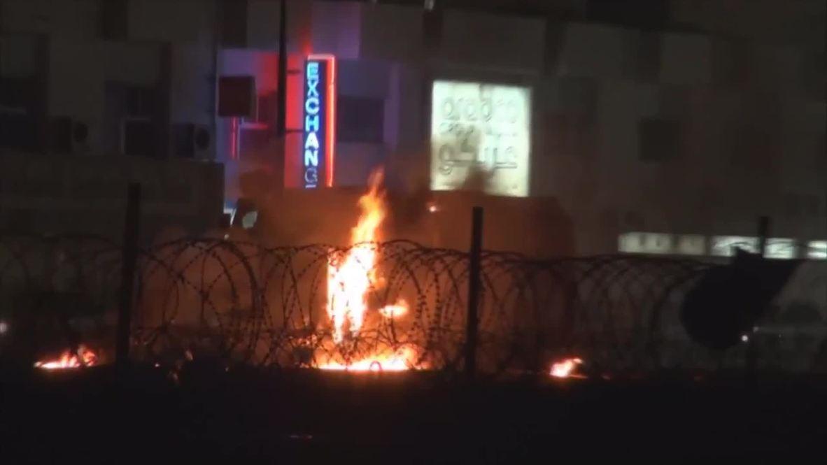 Bahrain: Molotov Cocktails rain upon security forces
