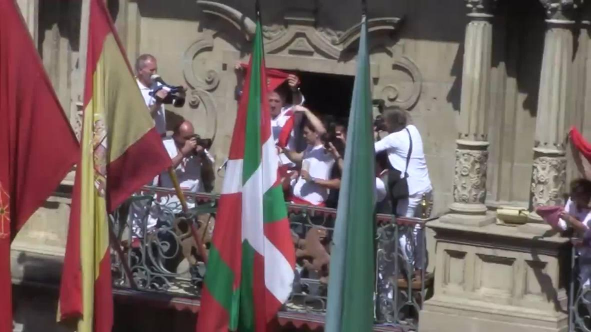 Spain: See San Fermin festival explode into life
