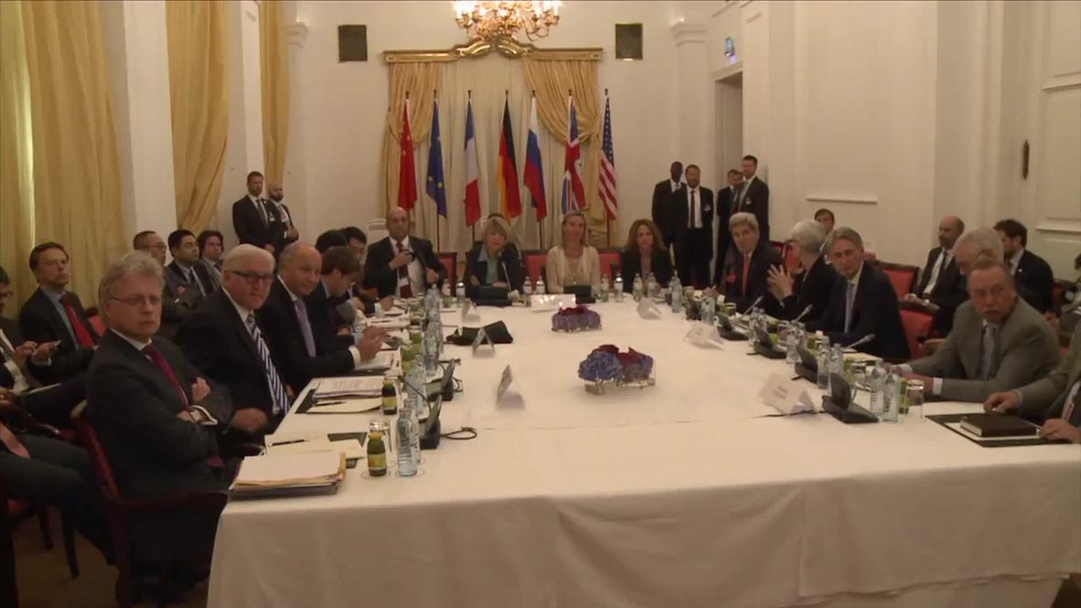 Austria: Iran nuclear talks continue as 'deadline' day looms