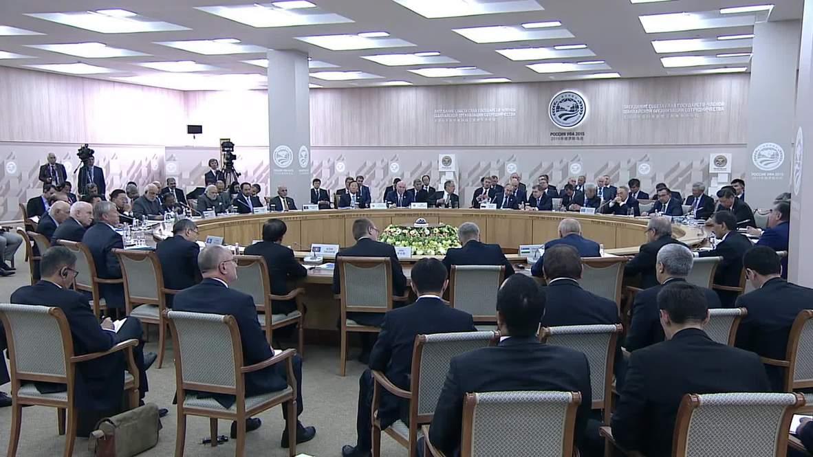 Russia: Central Asian SCO members discuss priorities at Ufa summit