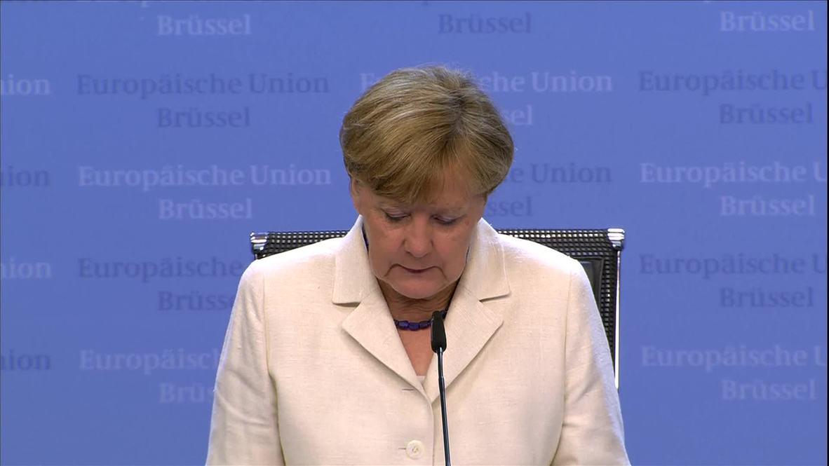 Belgium: Greek administration to be 'modernised, less political' - Merkel