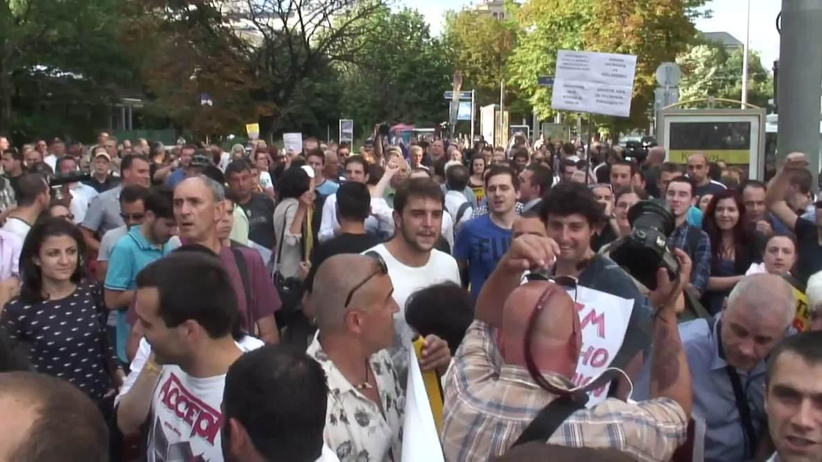 Bulgaria: Protesters demand top prosecutor's resignation and judicial reforms