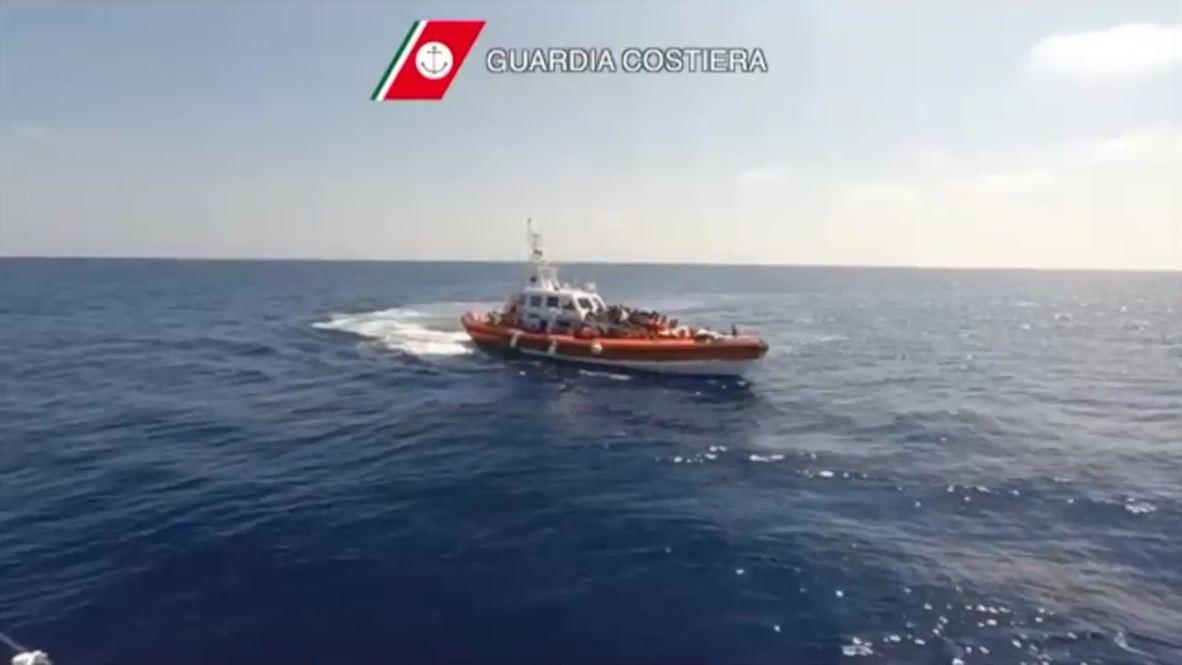 Mediterranean Sea: Around 2,700 migrants picked up near Libya