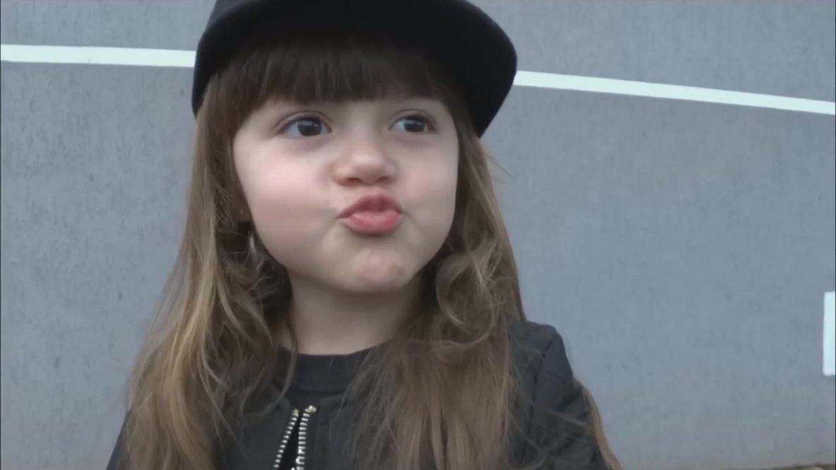 Brazil: Meet four-year-old fashion sensation Raphaela Buck