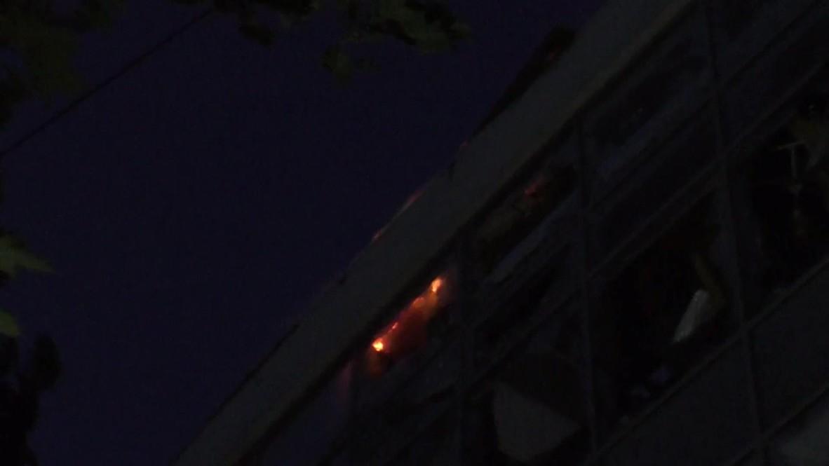 Ukraine: Fire rages after Donetsk shelling, residential homes battered