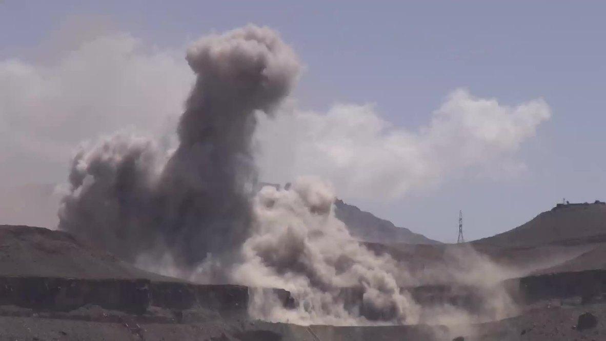 Yemen: Saudi-led strikes target army storage facilities in Sanaa