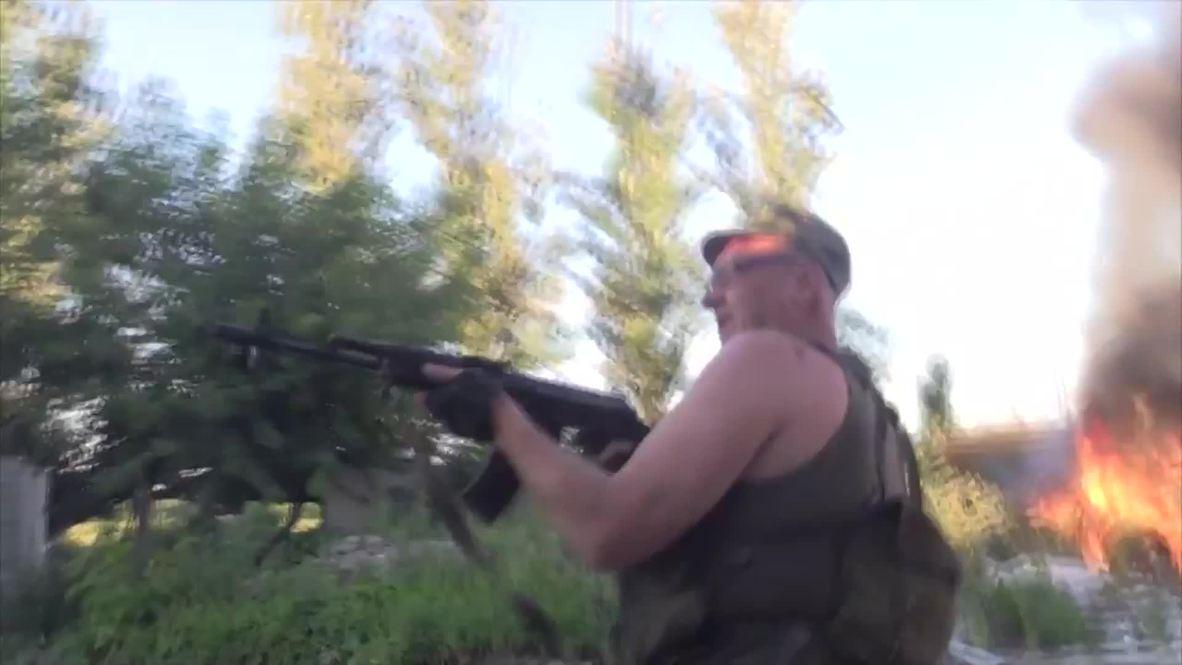 Ukraine: Heavy gun battles and shelling rage on near Donetsk
