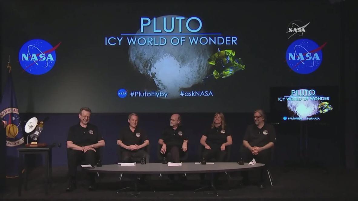 USA: NASA releases stunning new close-ups of Pluto
