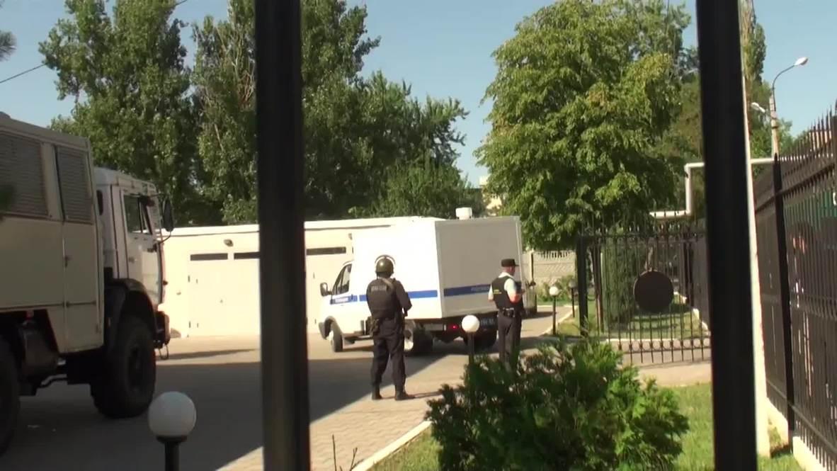 Russia: Security high as Ukrainian pilot Savchenko arrives for hearing