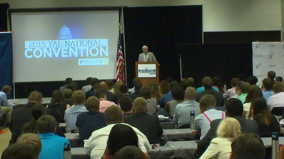 USA: Ron Paul attacks U.S 'military-industrial complex' at YAL summit