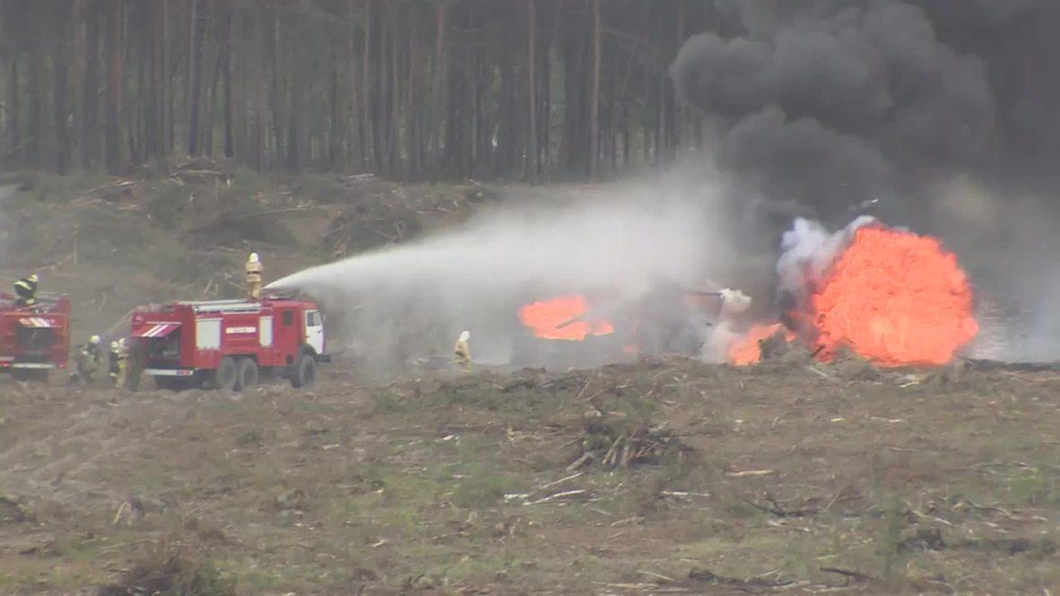 Russia: Aerobatic pilot injured in tragic crash taken to hospital
